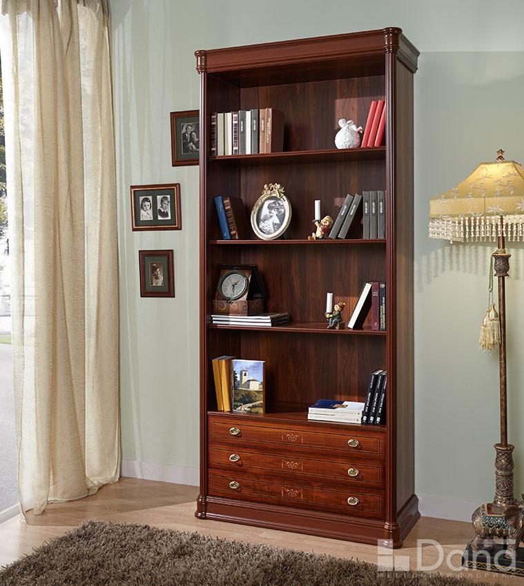 Шкафы - книжные шкафы - библиотека 785 раис - дана.